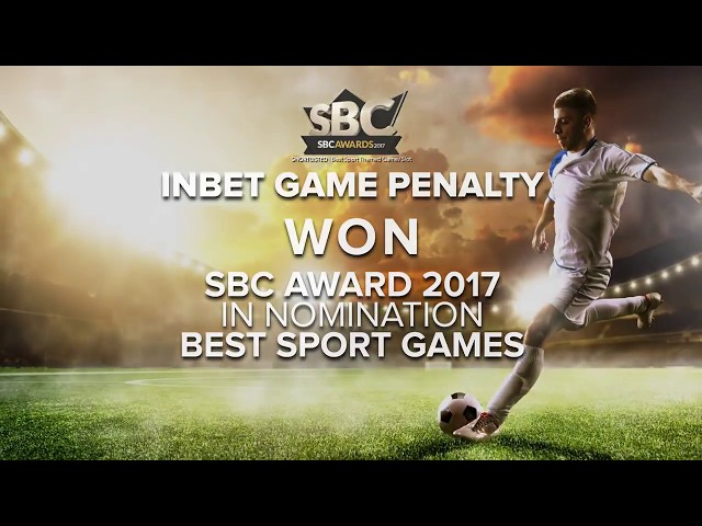 Penalty virtual football game from Inbet Games