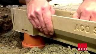 видео лотки водоотводные бетонные