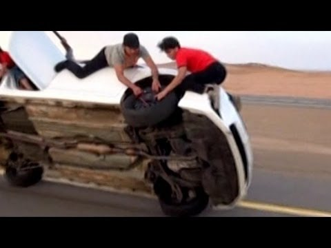 Life in the Fast Lane for Saudi Daredevils