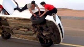 Life in the Fast Lane for Saudi Daredevils