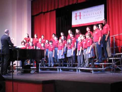 Mirman School Concert Singers - Walk in Jerusalem
