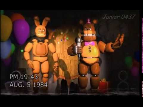 [FNAF] Fredbear's Family Diner birthday night show