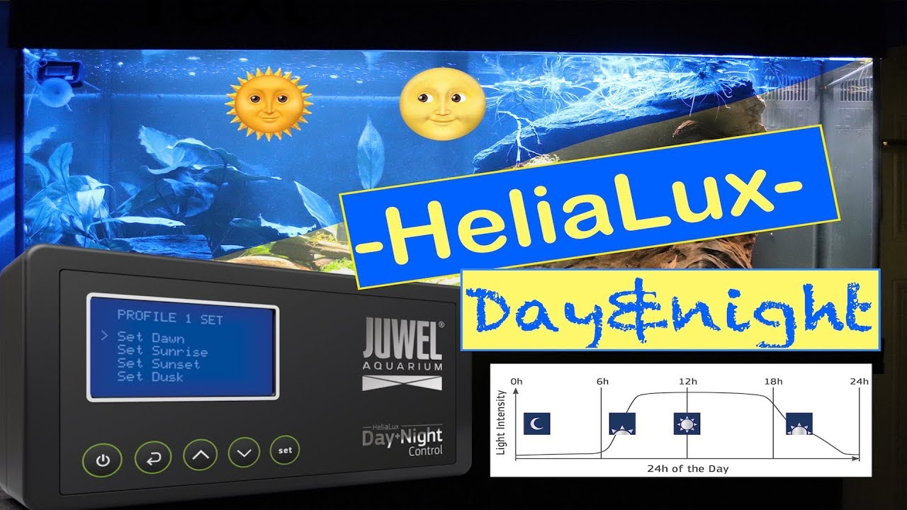 Led Terrarium Verlichting Juwel Helialux Day Night Control Unboxing And Setup