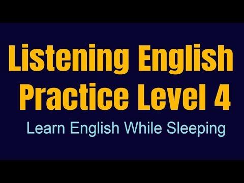 Improve Vocabulary ★ Learn English While Sleeping ★ Listening English Practice Level 4 ✔