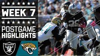 Raiders vs. Jaguars | NFL Week 7 Game Highlights