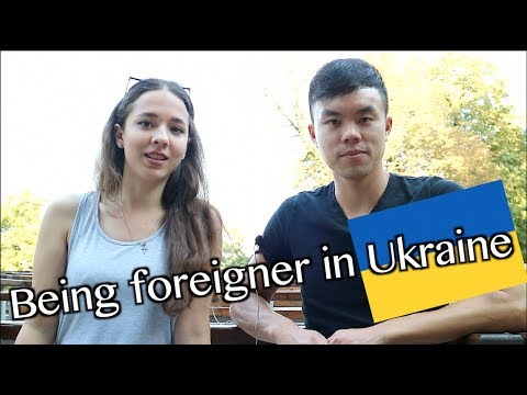 How It's Like To Be A FOREIGNER In UKRAINE? How To Date Girls And Learn Russian