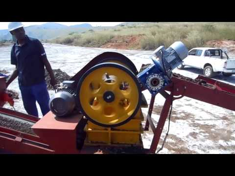 UMP 4 ton per hour prospecting and placer mining gold plant