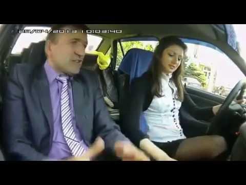 Инструктор по вождению сошел с ума   Девушка за рулём