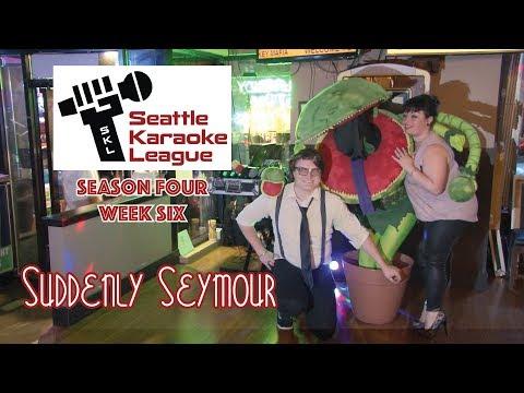 """""""Suddenly Seymour"""" by the Unusual Usuals - Seattle Karaoke League Season Four / Week Six"""