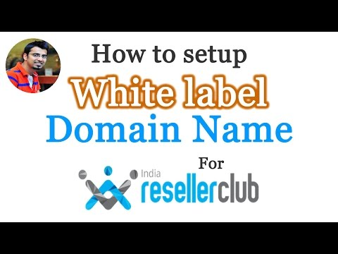 How to setup White label Domain Name for Resellerclub