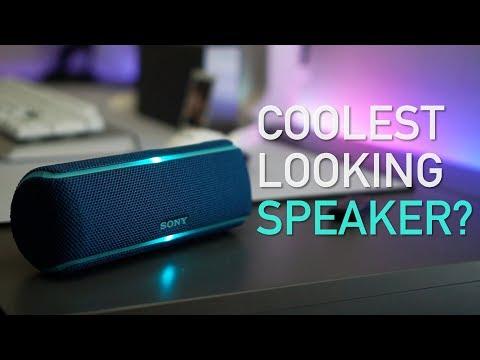 Sony XB-21 Bluetooth Speaker Review: Aesthetically Pleasing?