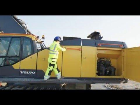 Volvo Ec950e Crawler Excavator Always On