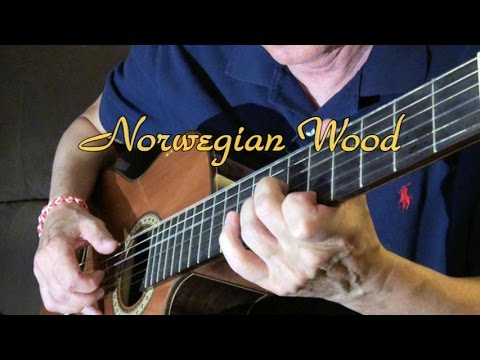 how to play norwegian wood on guitar