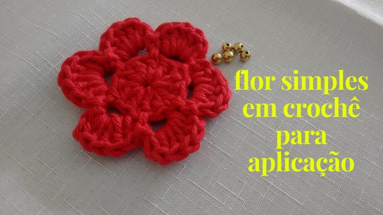 Como Fazer Flor De Crochê 46 Modelos Com Passo A Passo