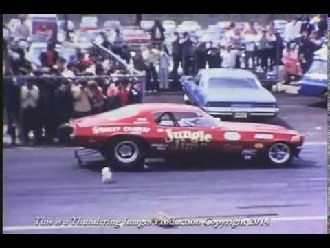 Funny Car Drag Racing in the 1970