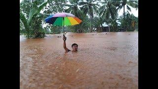 Tropical Storm Basyang Nagdulot ng baha sa Surigao