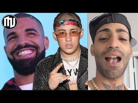 Drake empezó a seguir a Bad Bunny ¿Harán featuring? | Arcangel reacciona a Balvin con diamantes