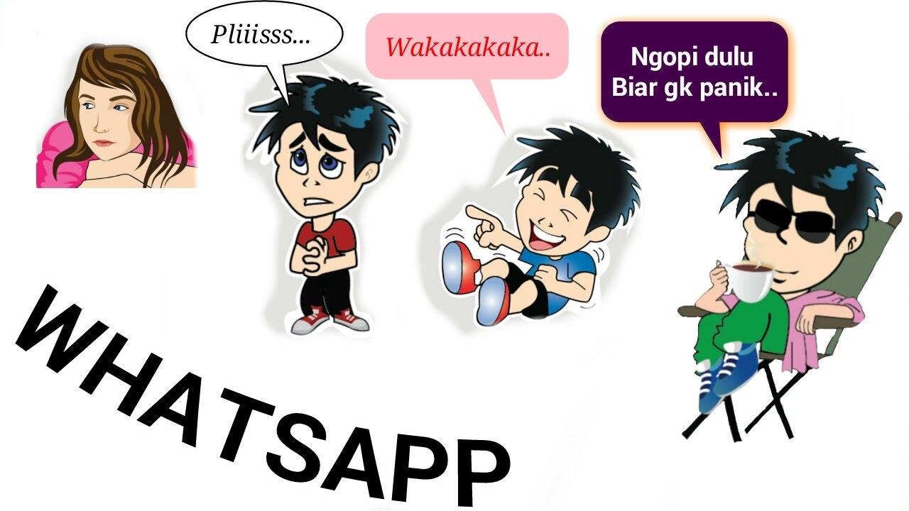 Cara Membuat Karakter Kartun Di Whatsapp Tutorial