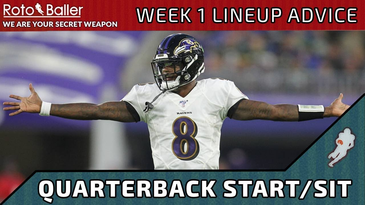 Fantasy Football Week 1: Start and Sit