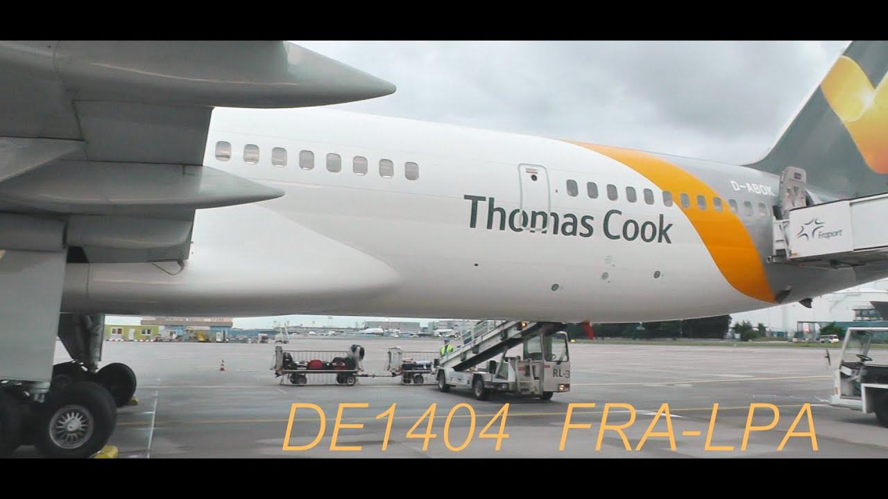 Condor Boeing 757 300 Frankfurt Gran Canaria Full Flight Youtube