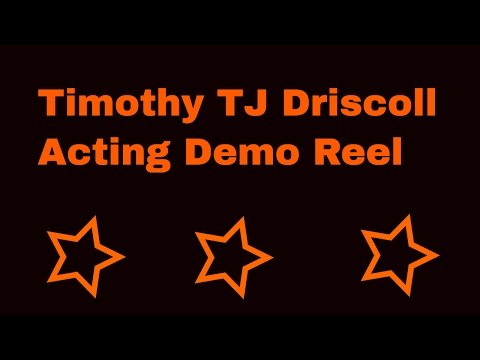 Timothy TJ Driscoll acting demo reel