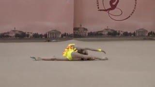 Купчик Анна (БП) 06.02.2016 Художественная гимнастика. Чемпионат Черниговской области