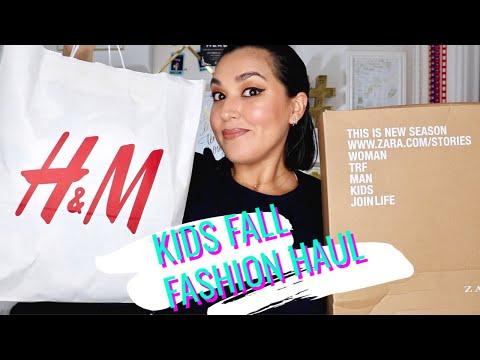 H&M & Zara Kids Fall Fashion Haul