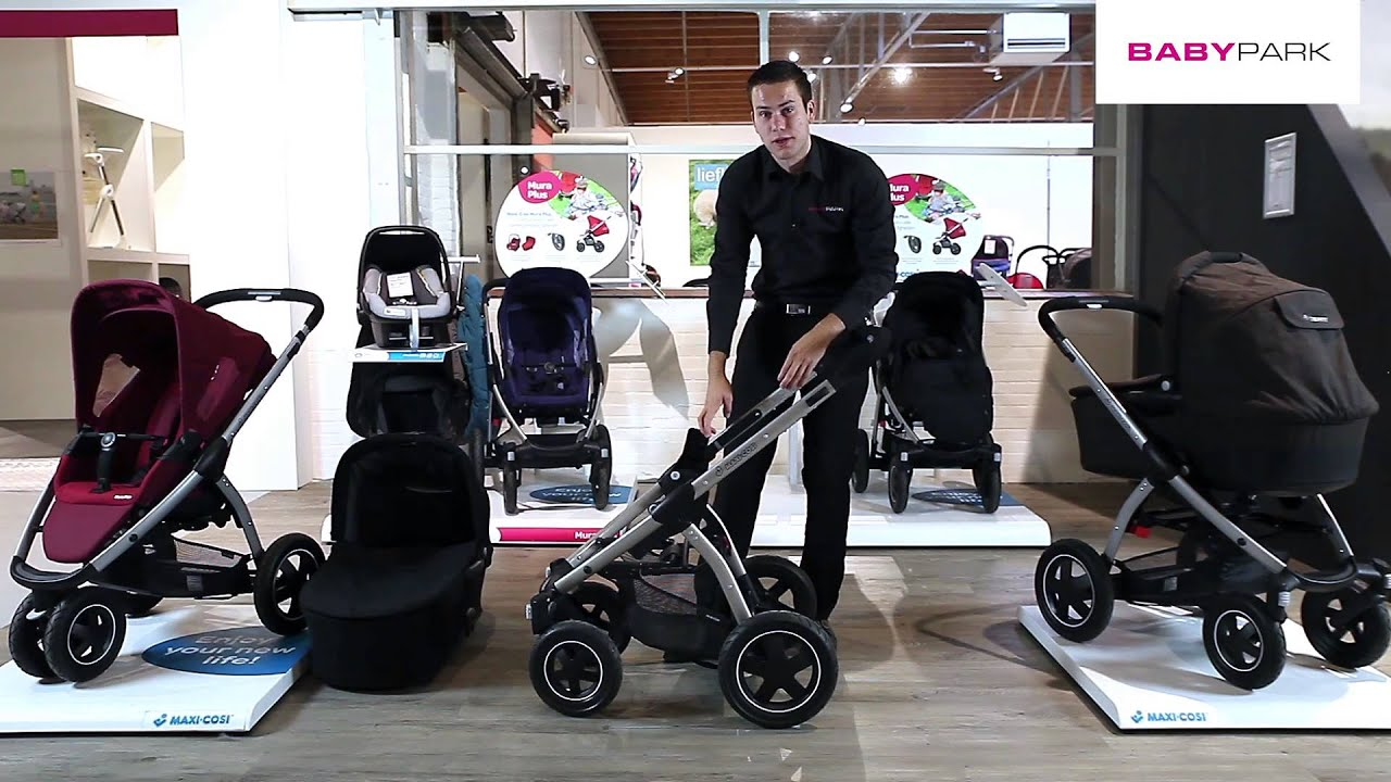 maxi cosi mura plus kinderwagen review youtube. Black Bedroom Furniture Sets. Home Design Ideas