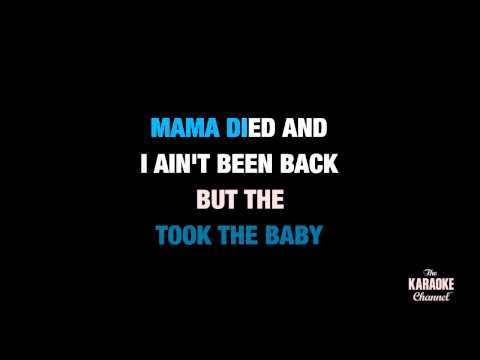 "Fancy in the Style of ""Reba McEntire"" karaoke video with lyrics (no lead vocal)"
