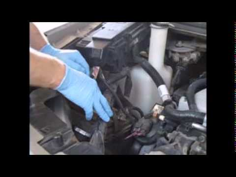 2005 uplander battery replacement and diag for charging
