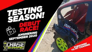 CHASE SHARPE - ANGMERING - SEPTEMBER 2020 - DEBUT RACE - 6 CAR PILE UP!
