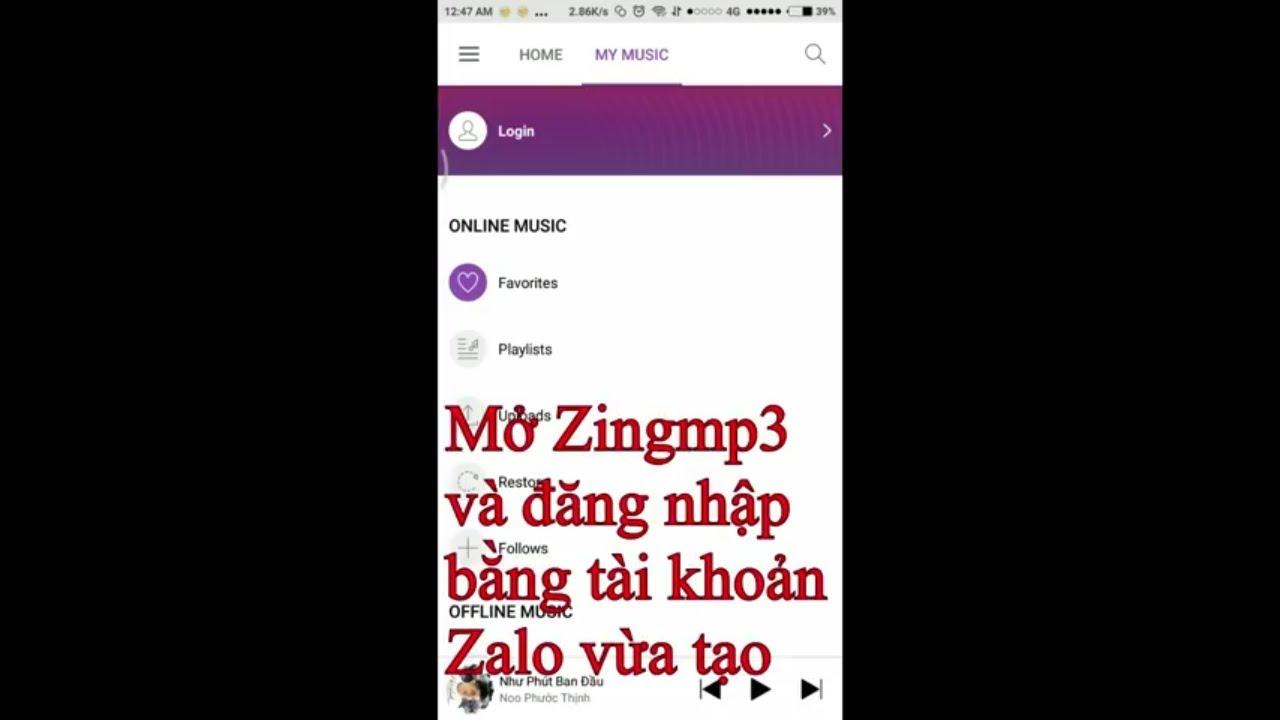 Đăng ký VIP Zing Mp3 miễn phí cực đơn giản, không cần root - Create free VIP Zing mp3 - zChannel VN