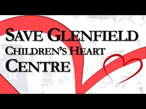 Save Children's Heart unit at Glenfield Hospital Leicester