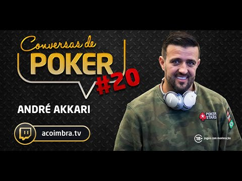 Conversas de Poker #20: André Akkari | André Coimbra