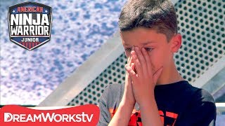 AMERICAN NINJA WARRIOR JR. | A Nervous Start Turns into Epic Win