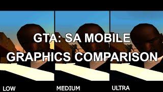 GTA: San Andreas Mobile Graphics Comparison (Low-Medium-Ultra)