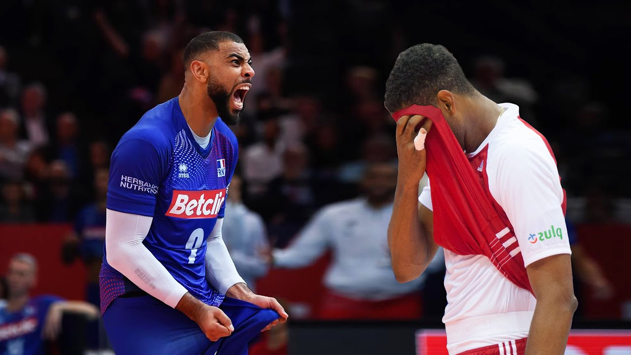 Wilfredo Leon vs Earvin N'Gapeth | Who is the KING of Volleyball !? VNL 2021