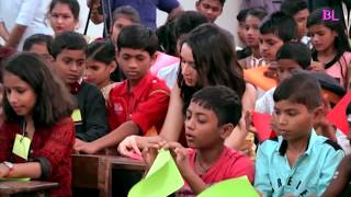 Shraddha Kapoor celebrate Children's Day with Kids