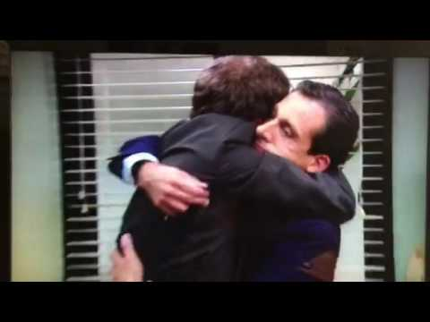 Hug It Out Michael Scott Dwight S Apology The Office