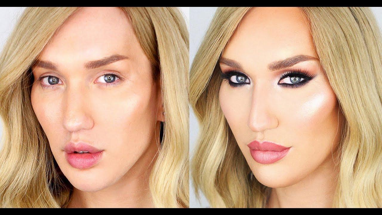 transgender feminising makeup tutorial tips tricks youtube