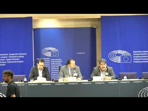 Conférence de presse au PE sur l'occupation turque à Jarablus