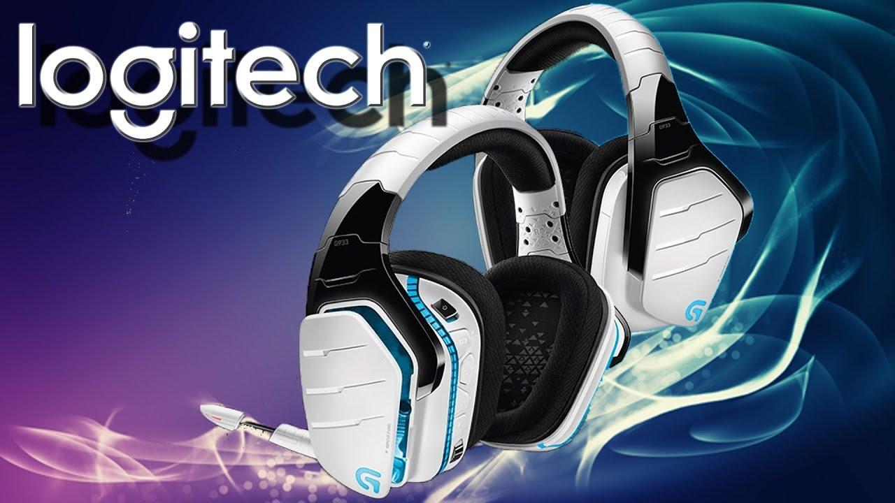 Hardware - Logitech G933 Kabelloses Gaming Kopfhörer für PC, Xbox One und  PS4 Snow weiß