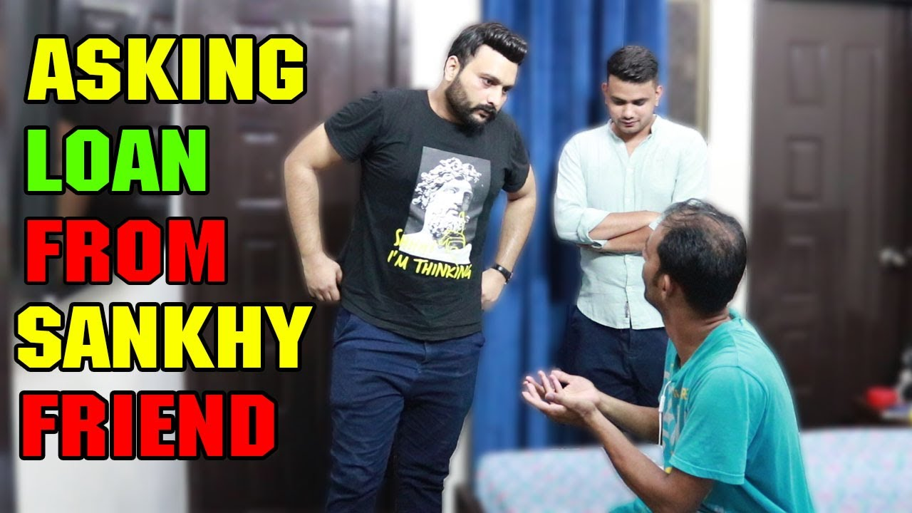 Asking Loan From Sankhy Friend   Faisal Raja Magician   Pranks In Pakistan