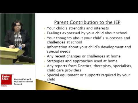 Developing Effective Individual Education Plans (IEPs) - Alison Morse