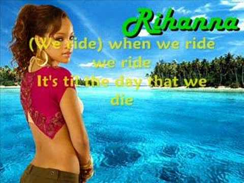 Rihanna-we ride