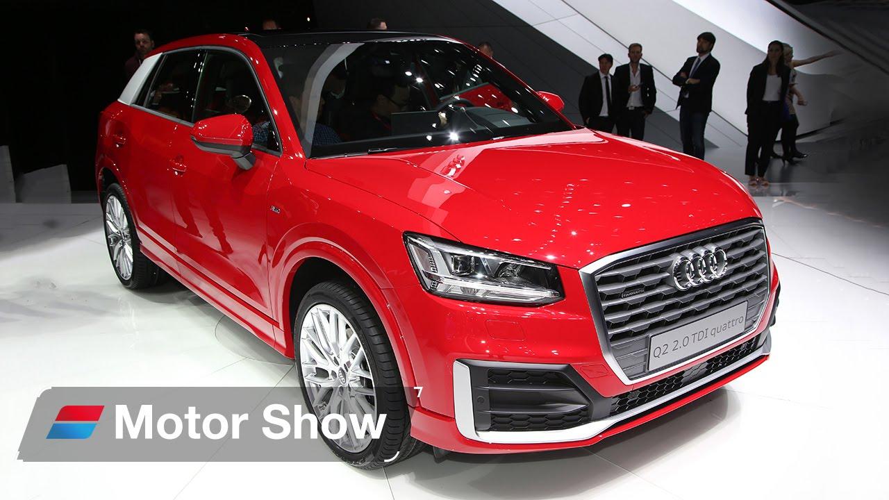 Audi Q2 vs Vauxhall Mokka X – 2016 Geneva Motor Show - YouTube