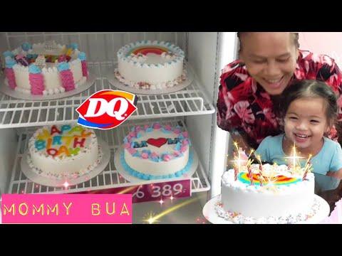 วันเกิดใคร? เลือกเค้ก เป่าเค้กวันเกิด #เค้กไอติม แดรี่ควีน || แม่เกศน้องบัว