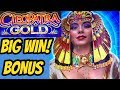 BIG WIN! CLEOPATRA GOLD BONUS