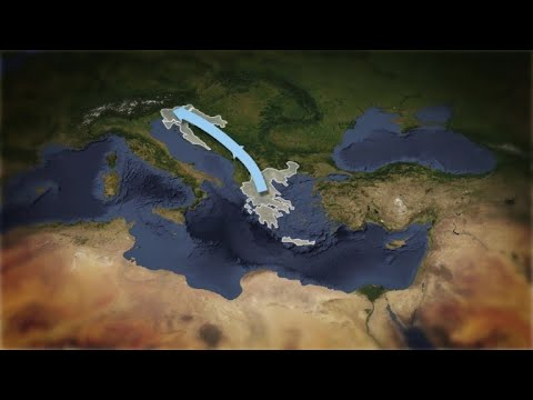 AFP news agency: Migrant routes to Europe