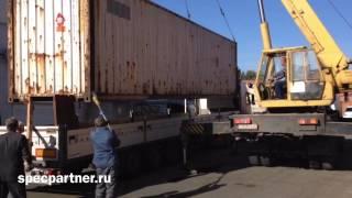 видео перевозка контейнером